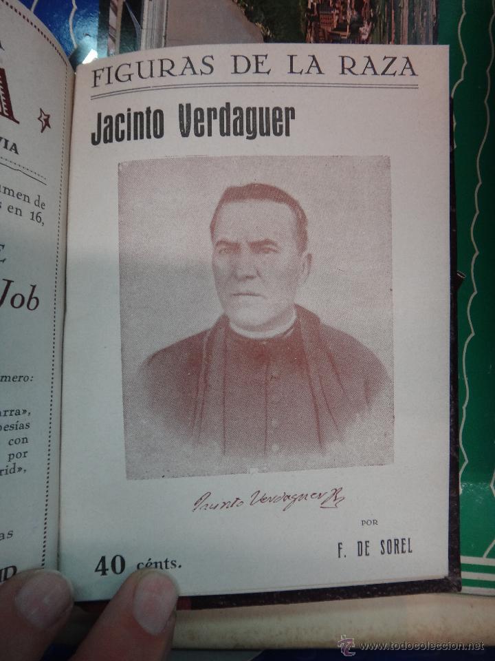 Libros antiguos: LIBRO ENCUADERNADO CON 14 FIGURAS DE LA RAZA, SOROLLA GALDOS CISNEROS......VER FOTOS , ORIGINAL, B1 - Foto 14 - 43879154