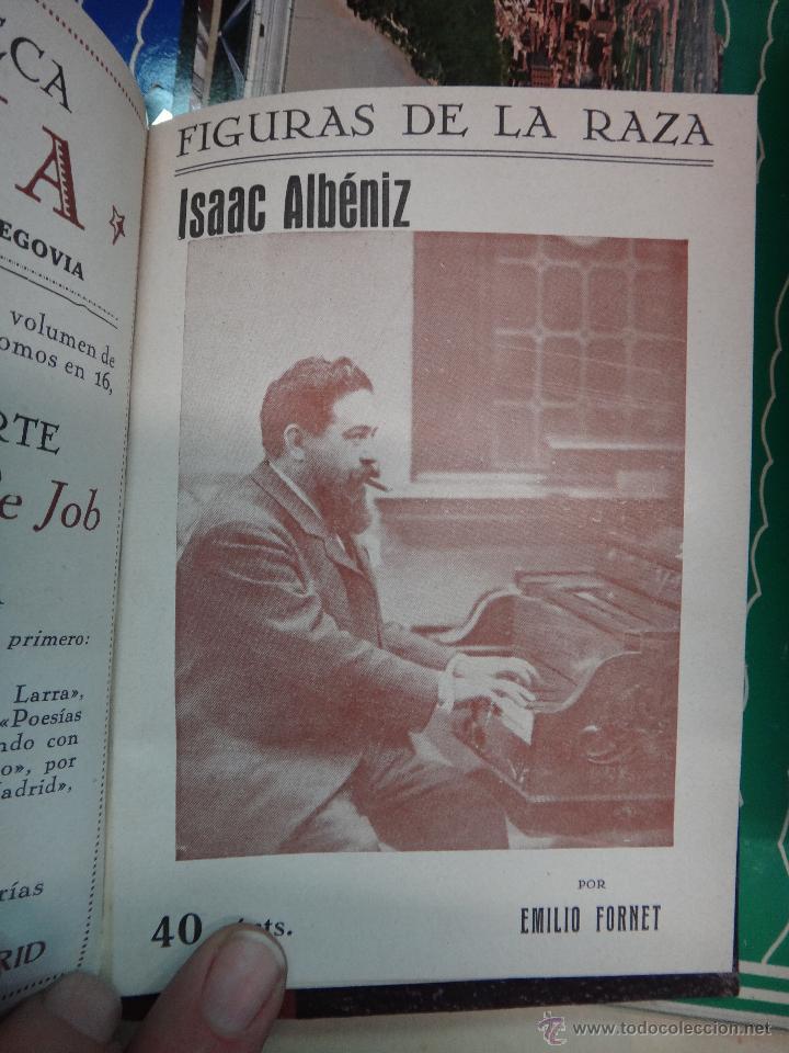 Libros antiguos: LIBRO ENCUADERNADO CON 14 FIGURAS DE LA RAZA, SOROLLA GALDOS CISNEROS......VER FOTOS , ORIGINAL, B1 - Foto 15 - 43879154