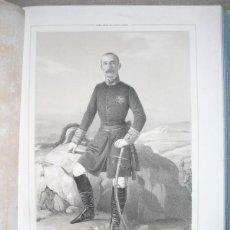 Libros antiguos: 1852 BIOGRAFIA DEL TENIENTE GENERAL DON ANTONIO ROS DE OLANO 42X31 CMSN. EN CARACAS. Lote 44103291