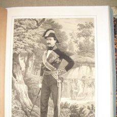 Libros antiguos: 1852 BIOGRAFIA DEL TENIENTE GENERAL DON MANUEL PAVIA MARQUES DE NOVALICHES 42X31 CMS. Lote 44107702