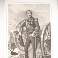 Libros antiguos: 1852 BIOGRAFIA TTE. GRAL. D. FCO. JAVIER DE AZPIROZ CONDE DE ALPUENTE VIZCONDE BEGIS 42X31 CMS. Lote 44108031
