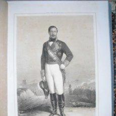 Libros antiguos: 1852 BIOGRAFIA TTE. GRAL. D. FERNANDO DE NORZAGARAY ESCUDERO CASADO Y VILLANUEVA 42X31 CMS. Lote 44108164