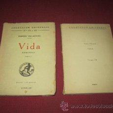 Libros antiguos: VIDA. MEMORIAS. TORRES VILLARROEL. DOS TOMOS.. Lote 47234786