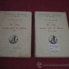 Libros antiguos: SU VIDA, ESCRITA POR ÉL MISMO. VICTOR ALFIERI. DOS TOMOS.. Lote 47241031