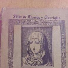 Livres anciens: ASÍ LLEGÓ A REINAR ISABEL LA CATÓLICA FÉLIX DE LLANOS Y TORRIGLIA EDITORIAL VOLUNTAD AÑO 1927. Lote 47429495