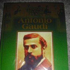 Libros antiguos: BIOGRAFÍA DE ANTONIO GAUDI PRECINTADO - EDICIONES RUEDA. Lote 48563144