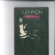 Libros antiguos: LENNON RECUERDA @. Lote 48989357