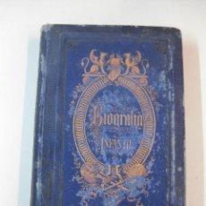 Libros antiguos: BIOGRAFIA INFANTIL. GALERIA DE HOMBRES CELEBRES. ILUSTRADO CON 100 GRABADOS. BARCELONA 1874. Lote 49672252