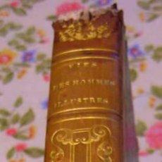 Libros antiguos: 1834 - VIDAS PARALELAS - PLUTARCO - DE HOMBRES ILUSTRES. Lote 49823944