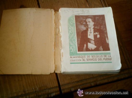 Libros antiguos: INTERESANTE ALMANAQUE DE BOLSILLO CON LA BIOGRAFIA EN FOTOGRAFIAS DEL REY ALFONSO XIII. - Foto 2 - 50041078