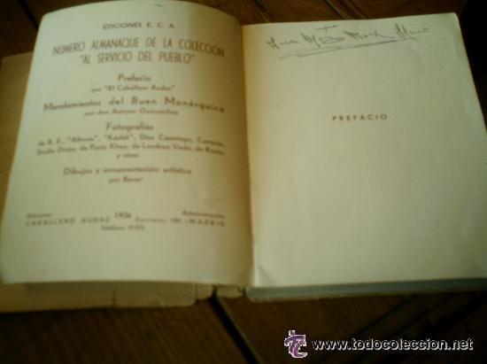 Libros antiguos: INTERESANTE ALMANAQUE DE BOLSILLO CON LA BIOGRAFIA EN FOTOGRAFIAS DEL REY ALFONSO XIII. - Foto 4 - 50041078