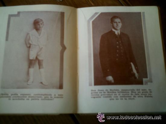 Libros antiguos: INTERESANTE ALMANAQUE DE BOLSILLO CON LA BIOGRAFIA EN FOTOGRAFIAS DEL REY ALFONSO XIII. - Foto 5 - 50041078