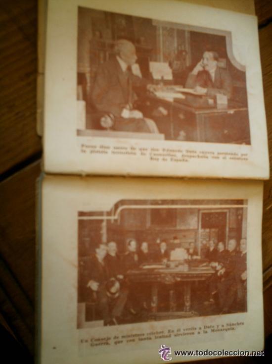 Libros antiguos: INTERESANTE ALMANAQUE DE BOLSILLO CON LA BIOGRAFIA EN FOTOGRAFIAS DEL REY ALFONSO XIII. - Foto 6 - 50041078