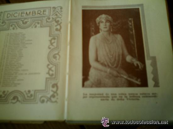 Libros antiguos: INTERESANTE ALMANAQUE DE BOLSILLO CON LA BIOGRAFIA EN FOTOGRAFIAS DEL REY ALFONSO XIII. - Foto 8 - 50041078