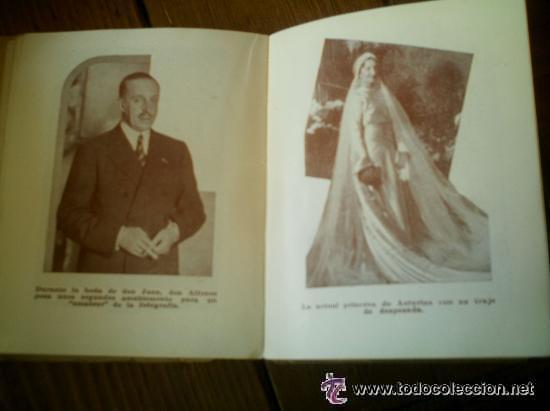 Libros antiguos: INTERESANTE ALMANAQUE DE BOLSILLO CON LA BIOGRAFIA EN FOTOGRAFIAS DEL REY ALFONSO XIII. - Foto 9 - 50041078