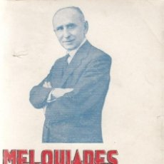 Libros antiguos: MELQUIADES ÁLVAREZ / MARIANO CUBER EDITORIAL REUS 1935 1ª EDICIÓN * ( GIJÓN , 1864- MADRID , 1936). Lote 26317803