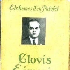 Libros antiguos: ELS HOMES D'EN PATUFET : CLOVIS EIMERIC (DAVID, C. 1930). Lote 50262115