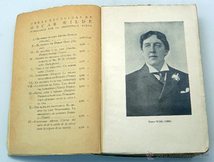Libros antiguos: Vida y confesiones Oscar Wilde Frank Harris Tomo I y II Biblioteca Nueva 1928 - Foto 3 - 51667370