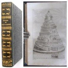 Libros antiguos: 1841 ARTAUD DE MONTOR - HISTOIRE DE DANTE ALIGHIERI - ILLUSTRÉ PLANCHES ITALIE. Lote 51930900