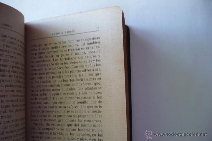 Libros antiguos: AZORIN -ANTONIO AZORIN-EDIT RENACIIMIENTO 1913 - Foto 3 - 52358095