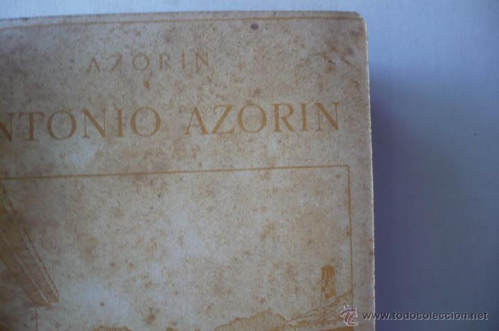 Libros antiguos: AZORIN -ANTONIO AZORIN-EDIT RENACIIMIENTO 1913 - Foto 4 - 52358095