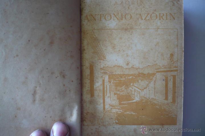 Libros antiguos: AZORIN -ANTONIO AZORIN-EDIT RENACIIMIENTO 1913 - Foto 5 - 52358095