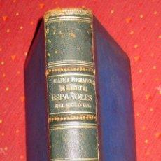 Libros antiguos: MANUEL OSSORIO Y BERNARD. GALERÍA BIOGRÁFICA DE ARTISTAS ESPAÑOLES DEL SIGLO XIX. 1868. Lote 52636317