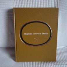 Libros antiguos: BIOGRAFIAS ILUSTRADAS DESTINO SON 3 EN EL MISMO LIBRO VELAZQUEZ, FALLA Y PASTERNAK 1ª EDIC.. Lote 52776761