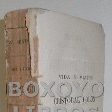Libros antiguos: IRVING, WASHINGTON. HISTORIA DE LA VIDA Y VIAJES DE CRISTÓBAL COLÓN. TOMO IV. 1892. Lote 52807177