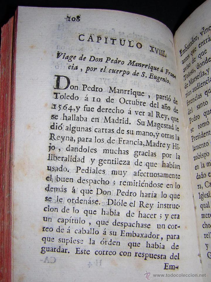 Libros antiguos: 1788 - SALAZAR DE MIRANDA - VIDA DE DON BARTOLOMÉ DE CARRANZA Y MIRANDA, ARZOBISPO DE TOLEDO - Foto 5 - 53750034