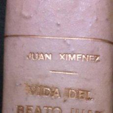 Libros antiguos: VIDA DEL BEATO JUAN DE RIBERA.. Lote 54066160