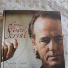 Libros antiguos: JOAN MANEL SERRAT A SUS 60 AÑOS(MARGARITA RIVIERE)-FOTOS. Lote 54095874