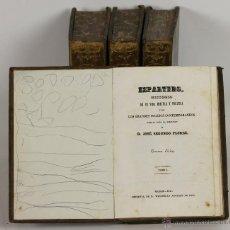 Libros antiguos: 7180 - HISTORIA DE ESPARTERO. IV TOMOS(VER DESCRIP). J. SEGUNDO. IMP. WENCELAO. 1847-48.. Lote 53955729