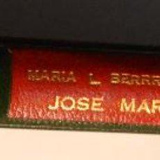 Libros antiguos: JOSE MARTI LIBERTADOR DE HOMBRES . MARIA L BERRONDO. EDICION NUMERADA ENCUADERNACION ARTISTICA 1932. Lote 54995638