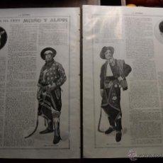 Libros antiguos: DOMADORES DE EXITO MUÑO Y ALIPPI . GONZALEZ FIOL RESEÑA ENTREVISTA 2 PAG.CIRCO LA ESFERA 1916 FOTOS. Lote 55005090