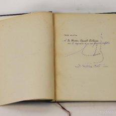 Libros antiguos: 7318 - BIOGRAFÍA DE PARIS. EDUARDO AUNOS PEREZ. EJEM. 47. TALL. P. LAUS DEO. 1945.. Lote 55704244