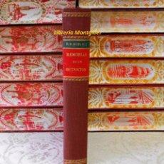 Libros antiguos: MEMORIAS DE UN SETENTON . NATURAL Y VECINO DE MADRID . AUTOR : MESONERO ROMANOS, RAMON DE . Lote 56649856