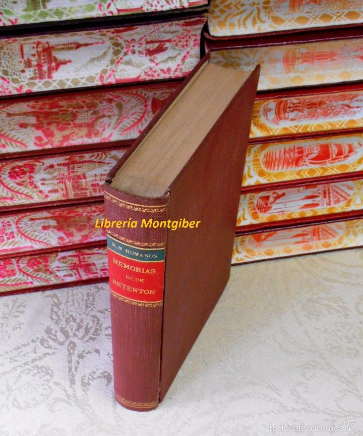 Libros antiguos: MEMORIAS DE UN SETENTON . Natural y vecino de Madrid . Autor : Mesonero Romanos, Ramon de - Foto 2 - 56649856