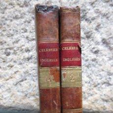 Libros antiguos: MEMORIAS HISTORICAS Y CRITICAS ACERCA DE LOS MAS CELEBRES INGLESES QUE ACTUALMENTE VIVEN -1807 2T. Lote 57110127