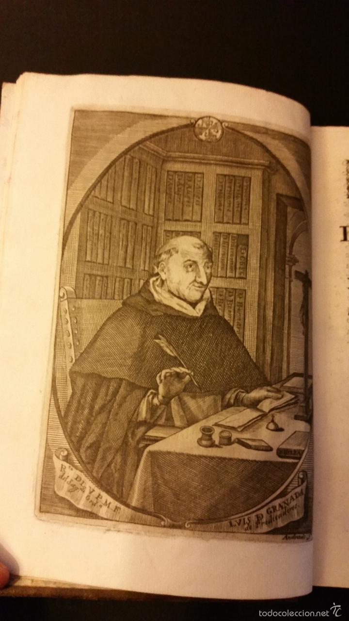 Libros antiguos: 1756 - LUIS MUÑOZ - VIDA Y VIRTUDES DE FRAY LUIS DE GRANADA - Foto 4 - 57192433