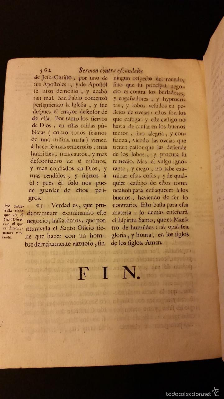 Libros antiguos: 1756 - LUIS MUÑOZ - VIDA Y VIRTUDES DE FRAY LUIS DE GRANADA - Foto 7 - 57192433