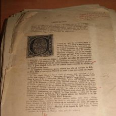 Libros antiguos: VIDA EJEMPLAR Y HERÓICA DE MIGUEL DE CERVANTES SAAVEDRA - ASTRANA MARÍN PRUEBA IMPRENTA AUTOR . Lote 57990982