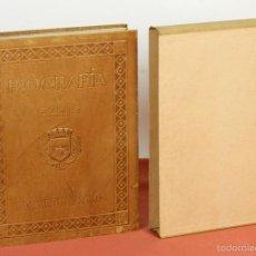 Libros antiguos: 7778 - BIOGRAFÍA DE PARÍS. EDUARDO AUNOS. TALL. PENITENCIARIOS ALCALA DE HENARES. 1945.. Lote 58005095