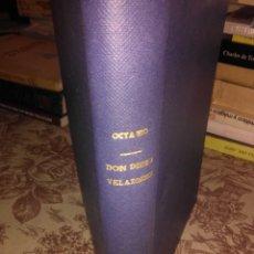 Libros antiguos: VIDA Y OBRAS DE DON DIEGO DE VELAZQUEZ. Lote 58435626