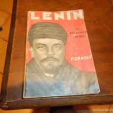 Libros antiguos: LENIN EL DICTADOR ROJO PRIMERA EDICION 1929 OBRA ILUSTRADA CON 52 FOTOGRAFIA DE LA EPOCA. Lote 58455421