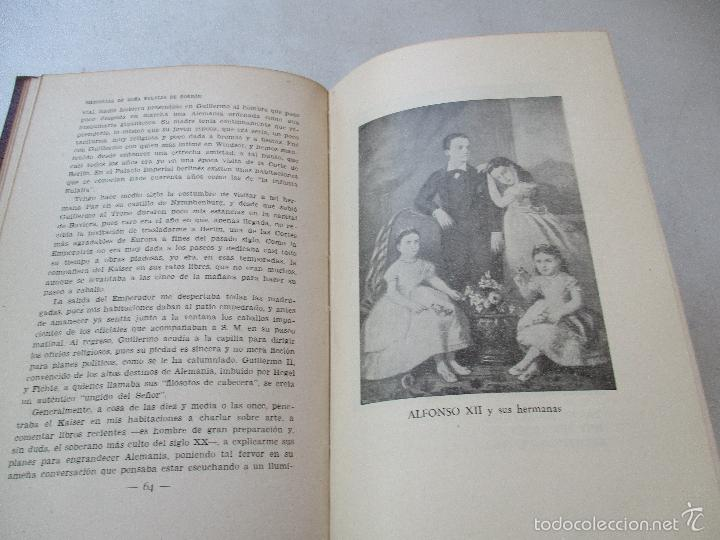 Libros antiguos: MEMORIAS DE DOÑA EULALIA DE BORBÓN, INFANTA DE ESPAÑA 1864-1931-EDT: JUVENTUD- S/F-INTRODUCCIÓN DE - - Foto 3 - 144717386