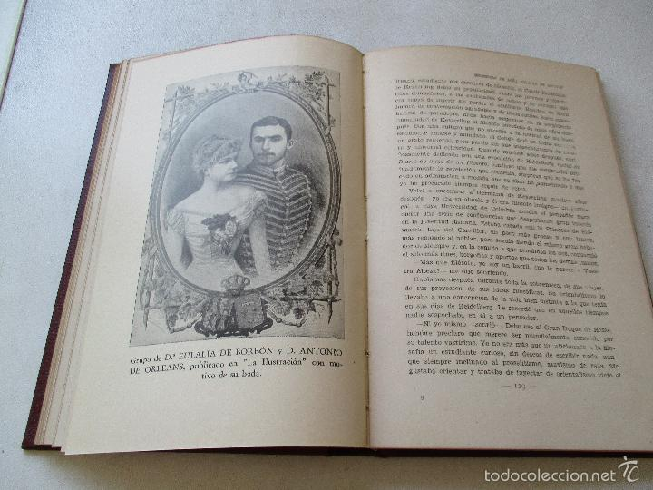 Libros antiguos: MEMORIAS DE DOÑA EULALIA DE BORBÓN, INFANTA DE ESPAÑA 1864-1931-EDT: JUVENTUD- S/F-INTRODUCCIÓN DE - - Foto 4 - 144717386