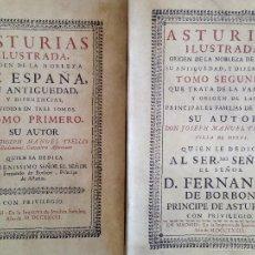 Libros antiguos: ASTURIAS ILUSTRADA. JOSEPH MANUEL TRELLES. GRAN FORMATO. ED. 1980. NUMERADO 216/1000. Lote 58663804