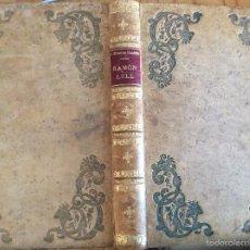 Libros antiguos: EL BEATO RAMÓN LULL. SU ÉPOCA, SU VIDA... DE SUREDA BLANES. Lote 60188539