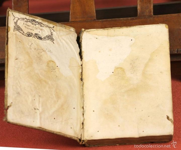 Libros antiguos: LP-293 - CARTAS FAMILIARES DEL ABATE J. ANDRÉS A SU HERMANO C. ANDRÉS. TOMO II. 1786. - Foto 3 - 60771807
